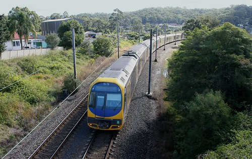 H SET 60 WORKING NEWCASTLE INTERCHANGE TO CENTRAL 'ALL STATIONS' SERVIVE BETWEEN TERALBA AND BOORAGUL 7th July 2019.