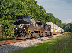 NS 4005 (AC44C6M) Train:265 Germantown, Tennessee