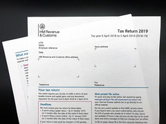 Tax return 2019 stock photo, free to use
