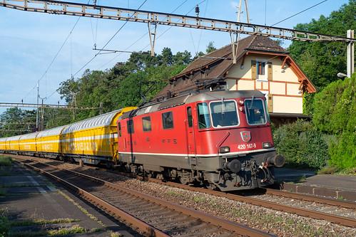 SBB CFF FFS Cargo Re 420 167-9