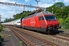 SBB CFF FFS Re 460 098-7 mit IC nach Luzern