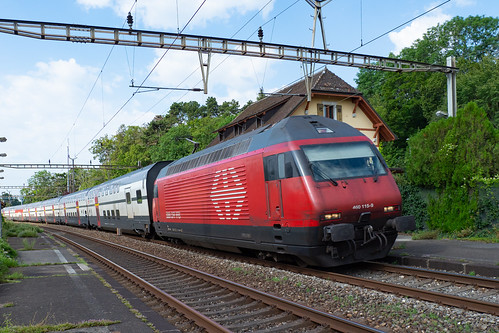 SBB CFF FFS Re 460 115-9 mit IC 2000  >St-Gallen
