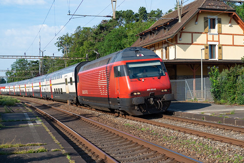 SBB CFF FFS Re 460 051-6 IC 2000 > St.Gallen