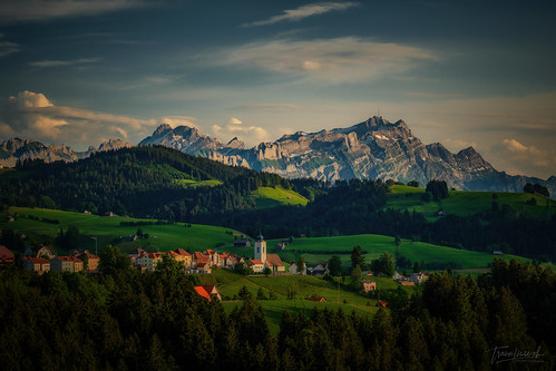 Sommerabend im Appenzellerland