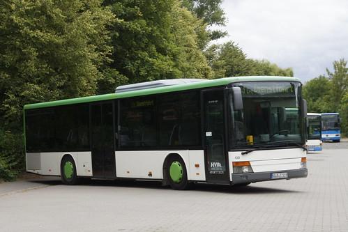 Setra S 315 NF Q Bus Bellenstedt 130 met kenteken QLB-C 119 in Harzgerode 08-07-2019