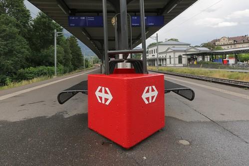 Bad Ragaz Station SBB