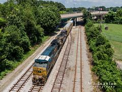 CSXT 538 | GE CW44AH | CSX Memphis Terminal Subdivision