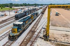 CSXT 4082 CSXT 4053 | EMD SD40-3 | CSX Leewood Yard