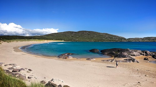 The beach in front of Derrynane House