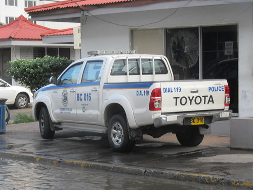 Jamaica Constabulary Force Toyota Hilux
