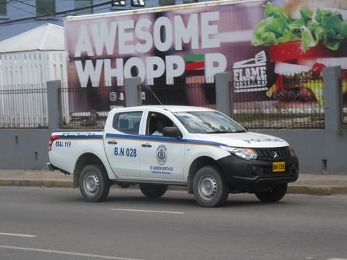 Jamaica Constabulary Force Mitsubishi L200