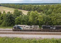 NS 4005 (AC44C6M) Train:265 Rossville, Tennessee