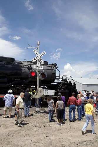 UP 4014 in PineBluffs, Wyoming