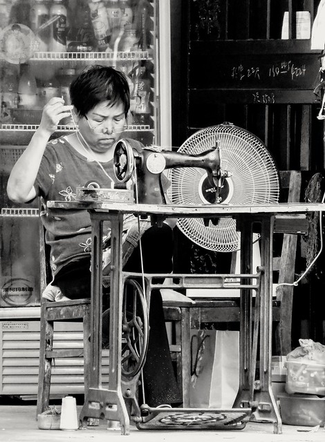 Street tailor, #Shanghai