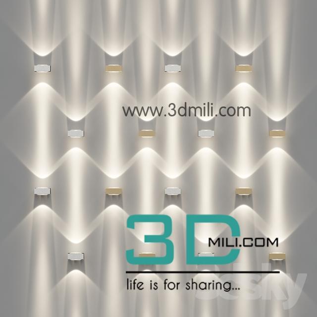 31  IES light 3D model - 3D Mili - Download 3D Model - Free