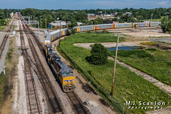 UP 6270 | GE AC4400CW | BNSF Thayer South Subdivision