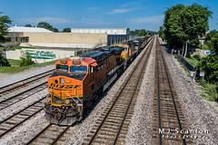 BNSF 6416 | GE ES44AC | NS Memphis District West End