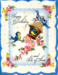 Birthday Card, 30 October 1943, page 1 of 2