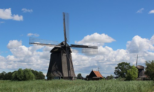 Nederland - Noord-Holland - Rustenburg - Strijkmolen L