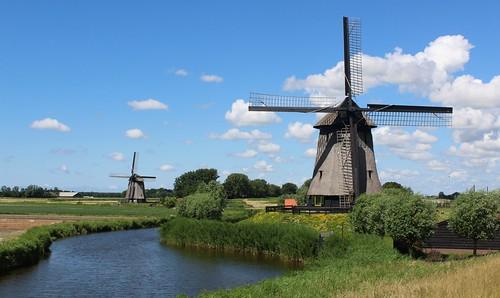 Nederland - Noord-Holland - Schermerhorn - Bovenmolen G