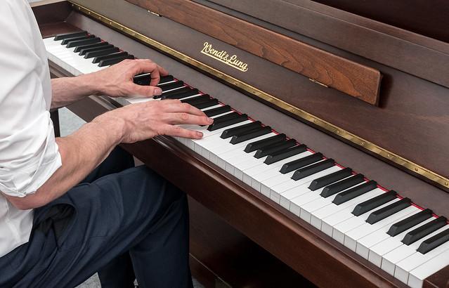 Mr Piano Player.