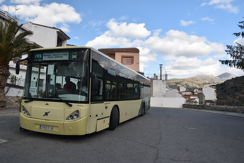 Volvo Unvi Urbis 3763FJV Route 395 Granada - Quentar