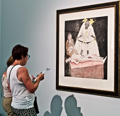 Let me read this text that explains the meaning of this Paula Rego Painting