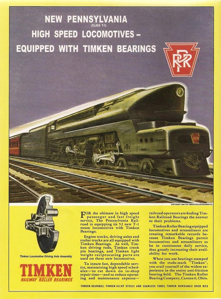 PRR 4-4-4-4 T-1 Steam Locomotive Poster 2! - Download Photo