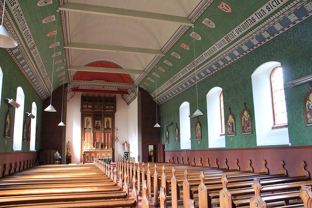 Our Lady of Perpetual Succour, interior