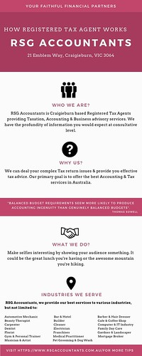 Are you looking for registered tax agent in Craigieburn?