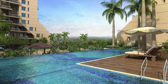 Star Vie_New Swimming pool02