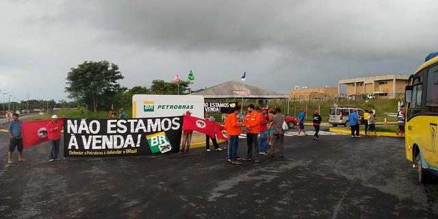 Sindipetro faz ato em Abreu e Lima na manhã dessa quarta (10)