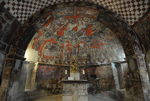 Cripta de Santa María del Perdón. SOS DEL REY CATÓLICO. ZARAGOZA. SPAIN.