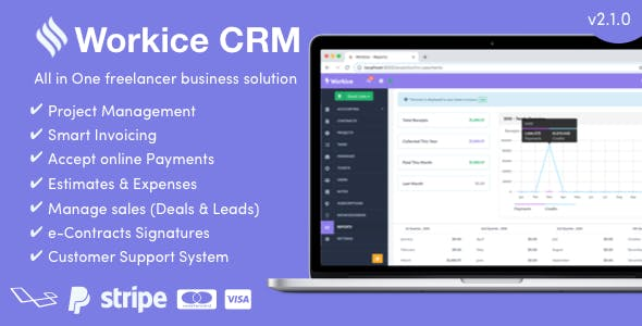 Workice v2.1.0 – The Ultimate Freelancer CRM