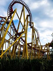Ednör a La Ronde Rollercoaster