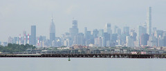 Hazy Midtown, taken from Queens.