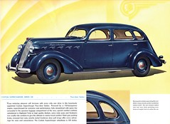 1937 Graham Custom Supercharger Series 120 Four-door Sedan