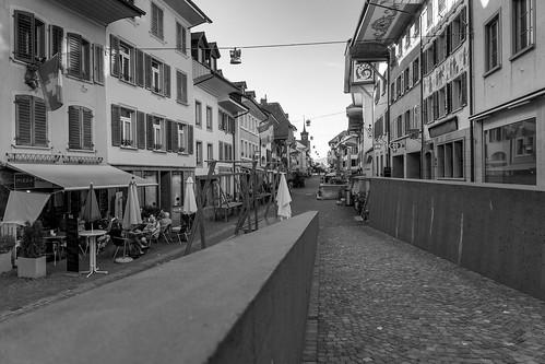 Around 8 PM: the main street (61/365)