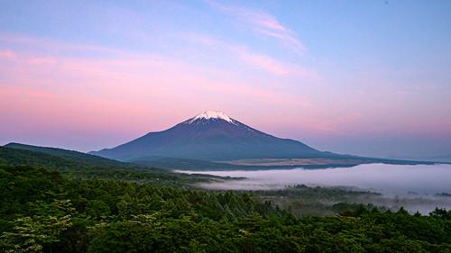 June morning Fuji