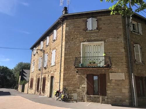Het geboortehuis van Gabriel Voisin, Belleville Frankrijk.