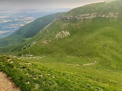 Path down from Cret du Neige
