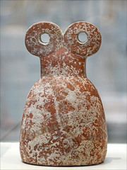 Idole aux yeux (Galerie du Temps, Louvre Lens)