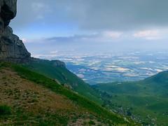 Swiss valley below