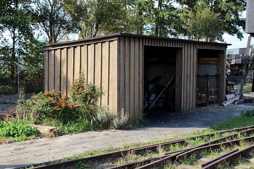 2018-09-30; 0118. Nationale smalspoor modelbouwdagen, Stoomtrein Katwijk-Leiden.