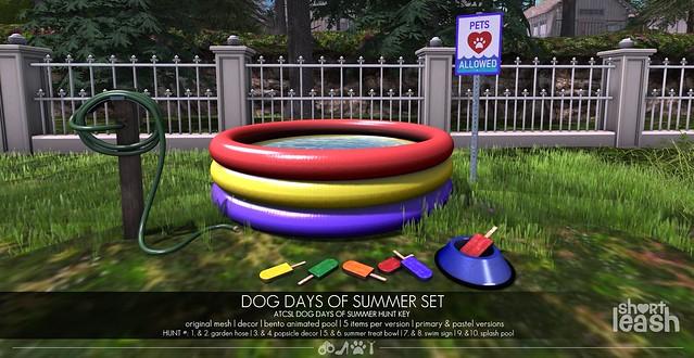 .:Short Leash:. Dog Days of Summer Set