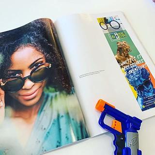Une jolie mise en page pour notre client @anneethenri dans le dernier numéro de @mlle_adele_ à retrouver dans les commerces de #rennes avec un superbe Shooting de @placecliche