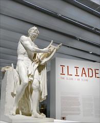 Homère de P.-L. Roland (exposition Homère, Louvre Lens)
