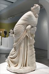 La Muse Polymnie (exposition Homère, Louvre Lens)