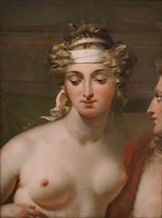 Hélène et Pâris d'A.-J. Gros (exposition Homère, Louvre Lens)
