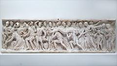 Le rachat du corps d'Hector (exposition Homère, Louvre Lens)